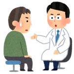 説明をする医師
